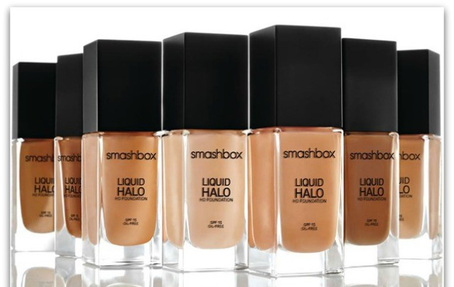 Die Foundation HD SPF 15 Liquid Halo von Smashbox