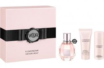 Flowerbomb von Viktor&Rolf: Körperpuder, Körpermilch, Körpercreme, Parfüm